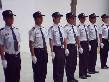 湘潭保安培训现场