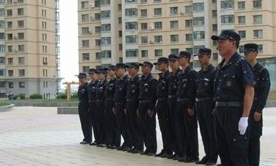 湘潭宾馆保安现场